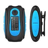 AGPTEK Mp3 Acuatico 8GB con Pantalla, S07 Clip Reproductor MP3 Waterproof IPX 8 Soporta Rdaio FM,...