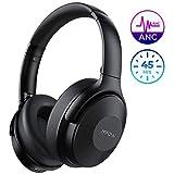 Mpow H17 Auriculares con Cancelación de Ruido, 45 Hrs de Juego, Cascos Bluetooth Diadema con Carga...