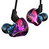Auriculares ergonómicos KZ ZST Auriculares intrauditivos In-earearphones Montura Dynamic Hybrid...