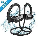 Mpow D7 Auriculares Inalámbricos, 10-12 Horas de Tiempo de Juego/Bass + Technology, IPX7...