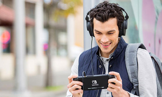 Auriculares Nintendo Switch